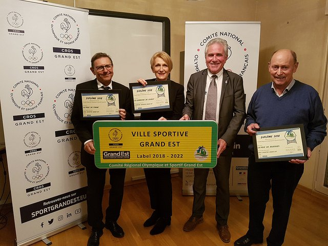 Label communes sportives Grand Est 2018-2022